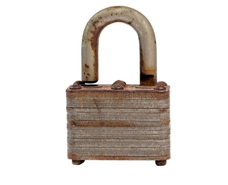 Download A Rusty Padlock. stock photo. Image of insure, metal - 15802046