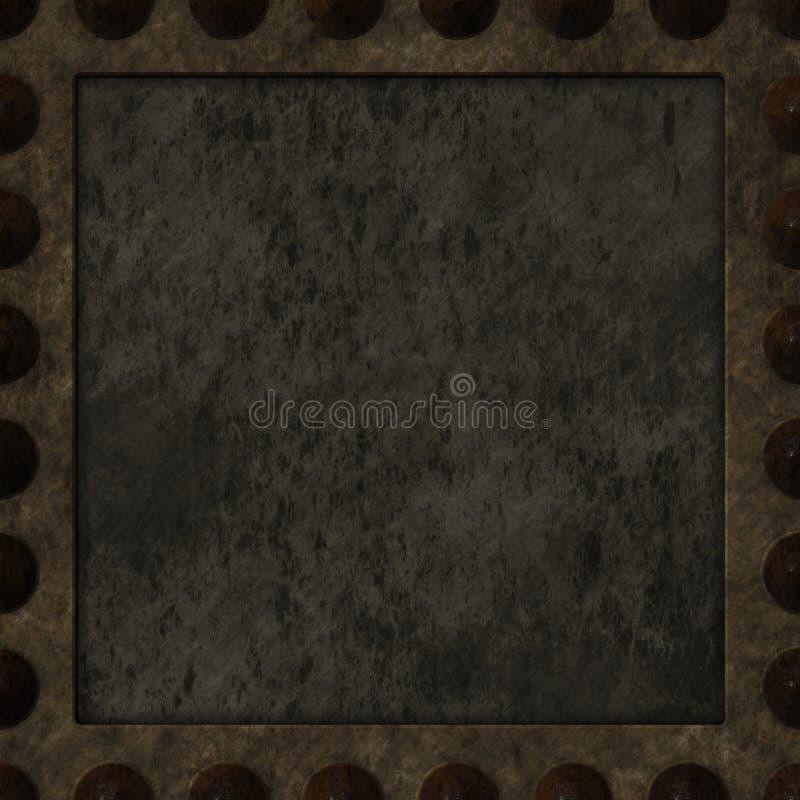 Download Rusty panel stock illustration. Image of iron, board - 24784423