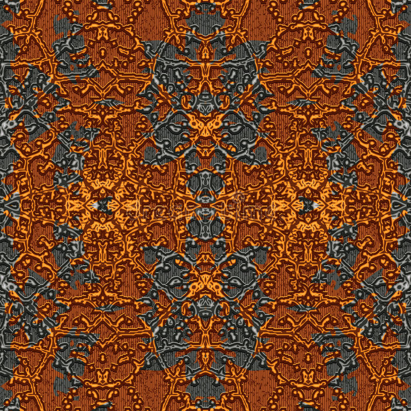 Rusty pattern vector illustration