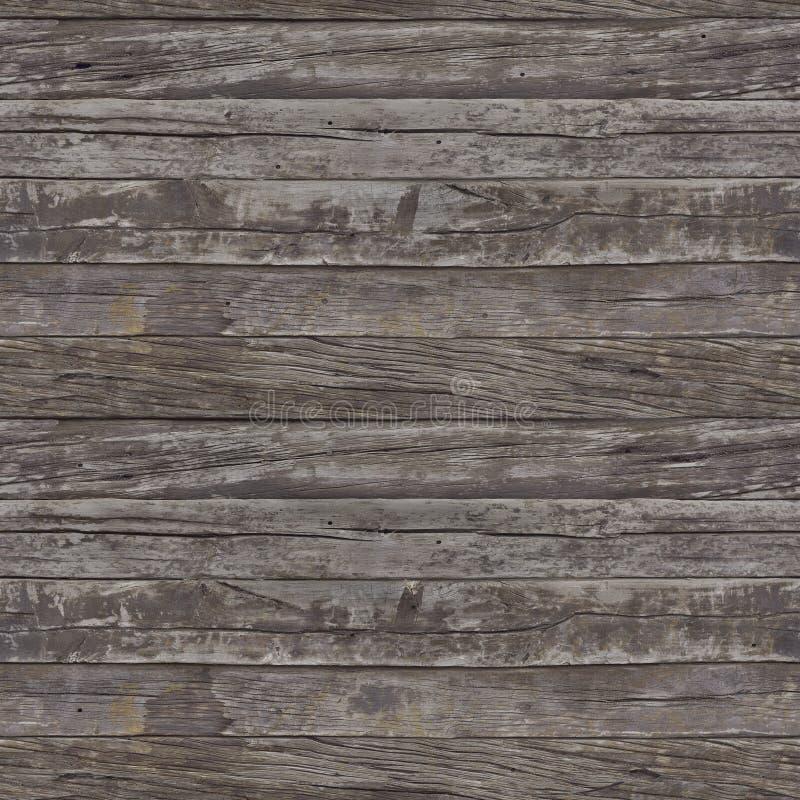 Rusty Planks Seamless Pattern imagens de stock royalty free