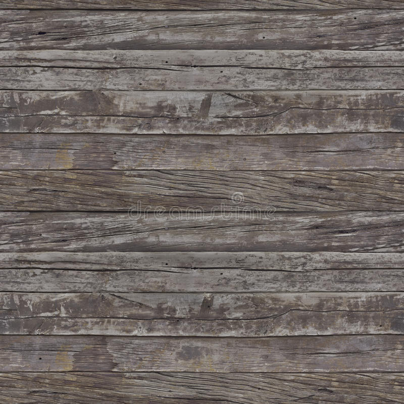 Rusty Planks Seamless Pattern royalty free stock images