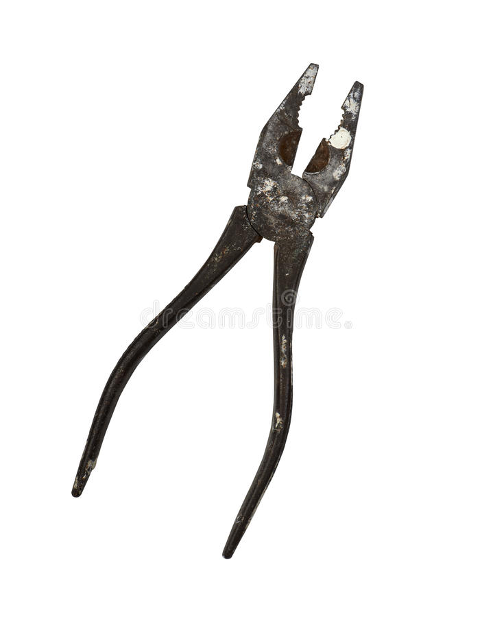 Download Rusty pliers stock photo. Image of brown, equipment, wire - 33871714