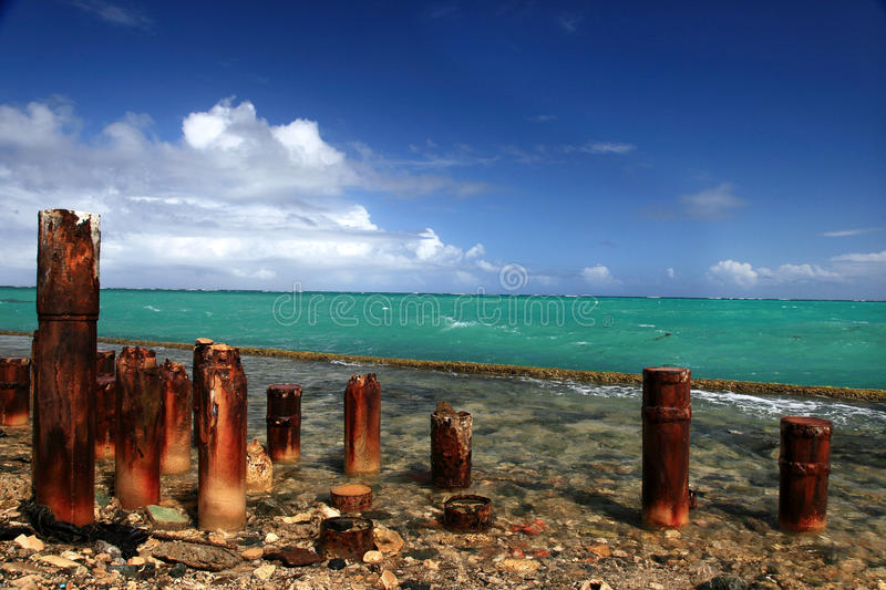 Rusty Posts Royalty Free Stock Image