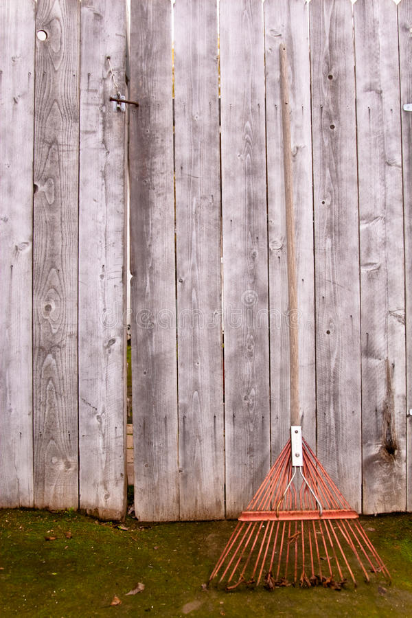 Download Rusty rake stock image. Image of gardening, chore, house - 12913003