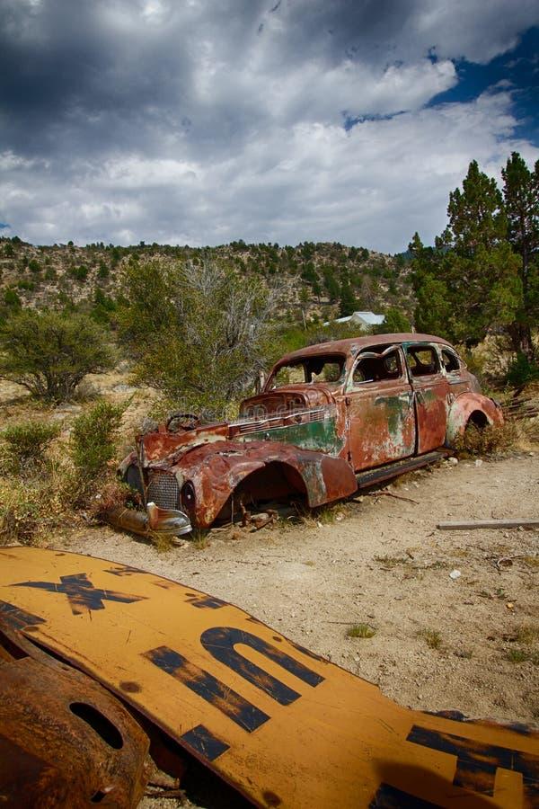 rusty samochód obraz stock