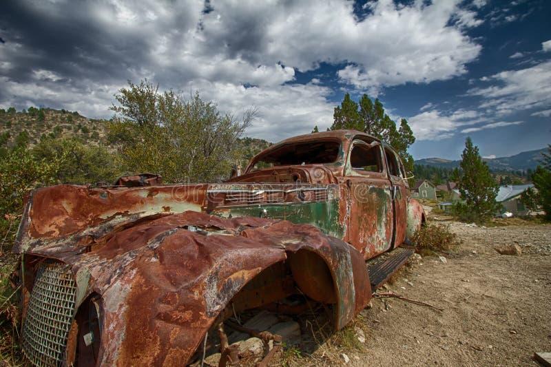 rusty samochód zdjęcia stock