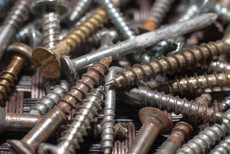Download Rusty Screws Royalty Free Stock Photo - Image: 36246105