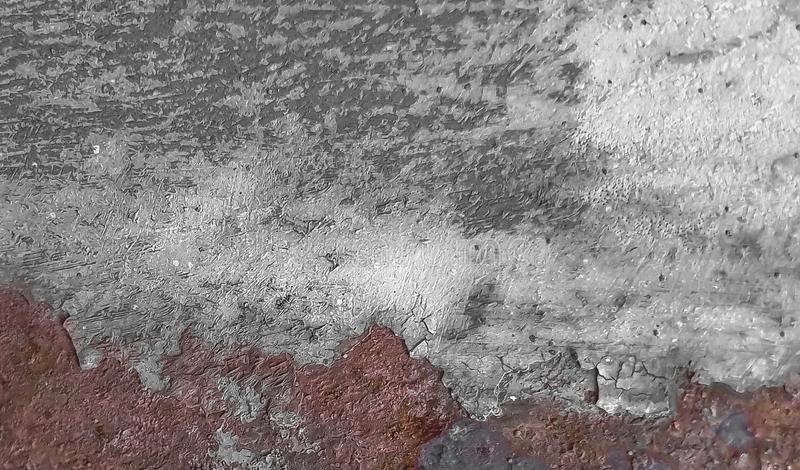 Rusty shabby chic metal texture background royalty free stock photos