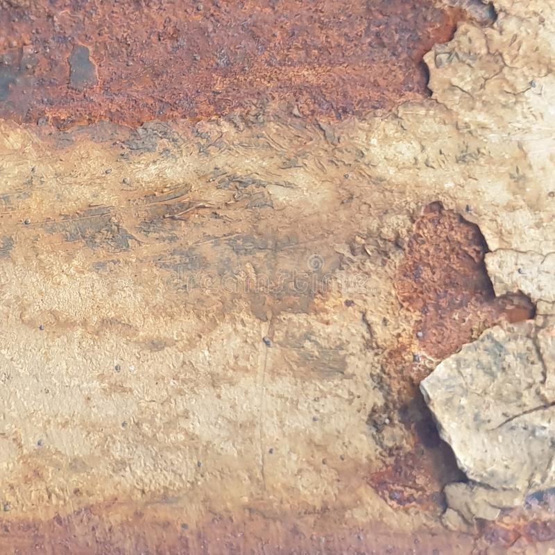 Rusty shabby chic metal texture background royalty free stock images