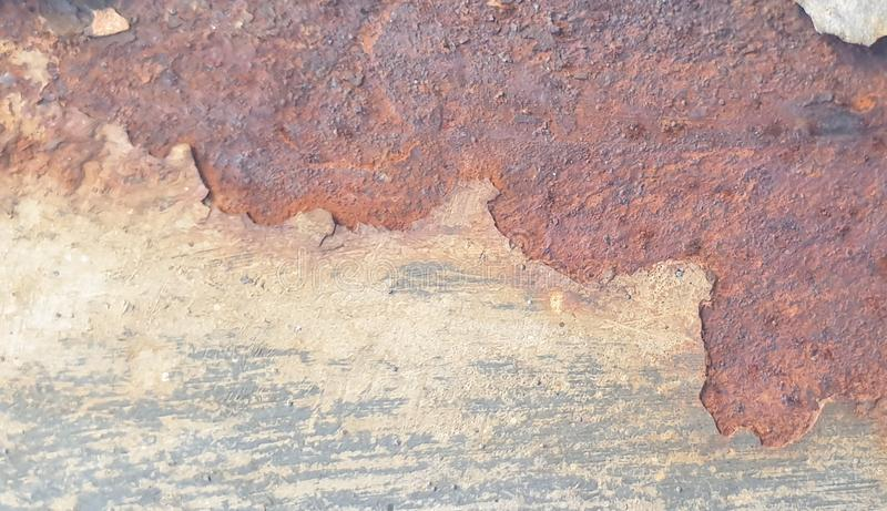Rusty shabby chic metal texture background royalty free stock photography