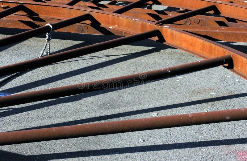 Rusty Spokes Free Stock Image