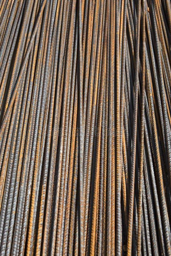 Download Rusty steel bars stock image. Image of building, material - 27705117