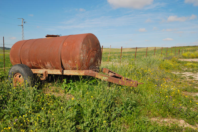 Download Rusty Tank Royalty Free Stock Photography - Image: 24447427