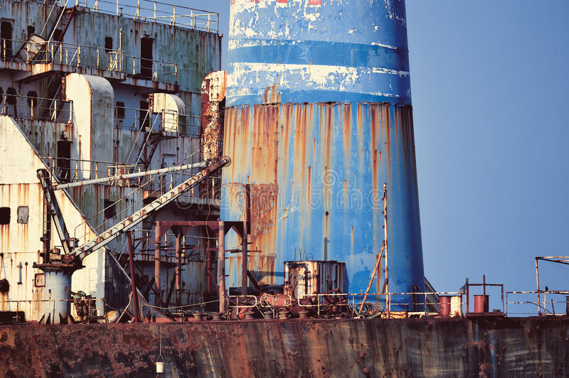 Download Rusty Tanker stock image. Image of rusty, grunge, shipping - 27332631