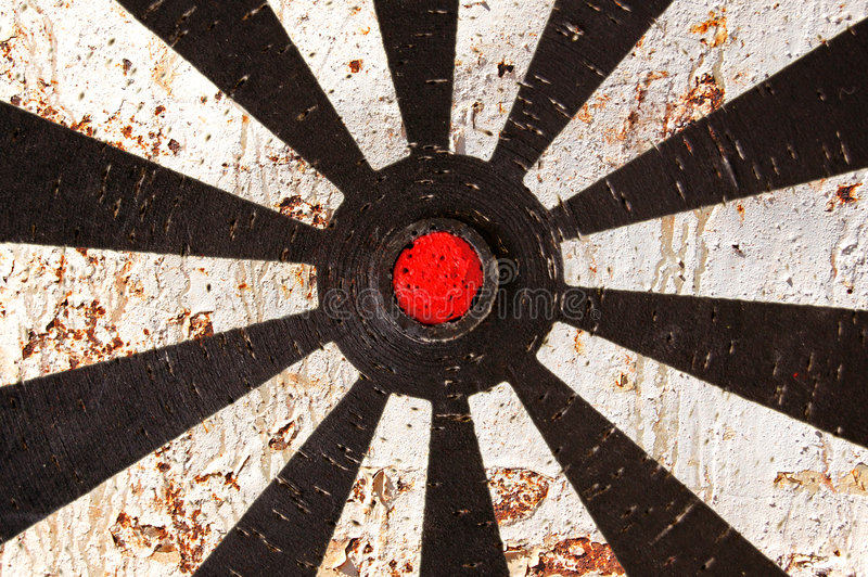 Download Rusty target stock photo. Image of cracked, abstract, corrosion - 5324474