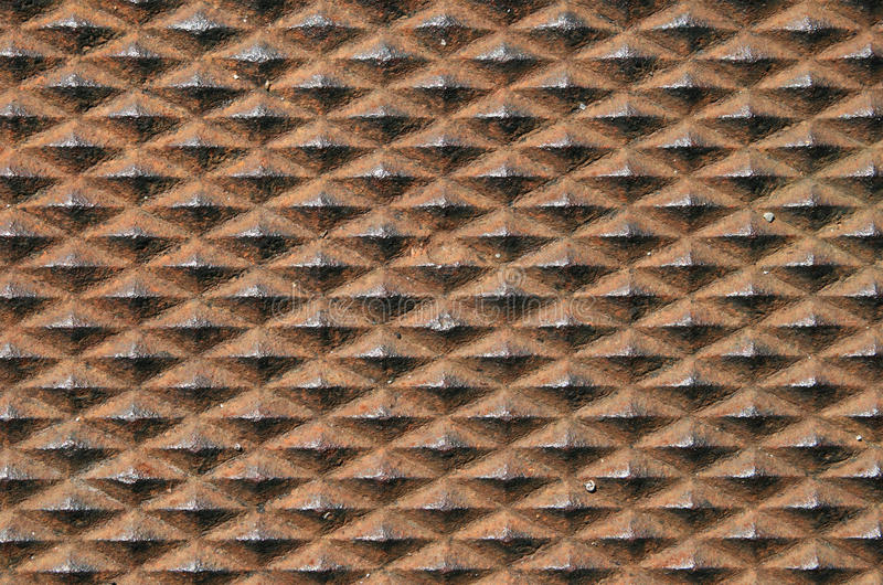 Rusty Textured Metal Background Royalty Free Stock Photography