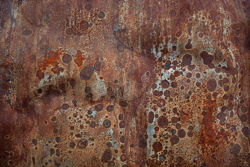 Rusty tin abstract metal background. Rusty old tin abstract metal background royalty free stock images