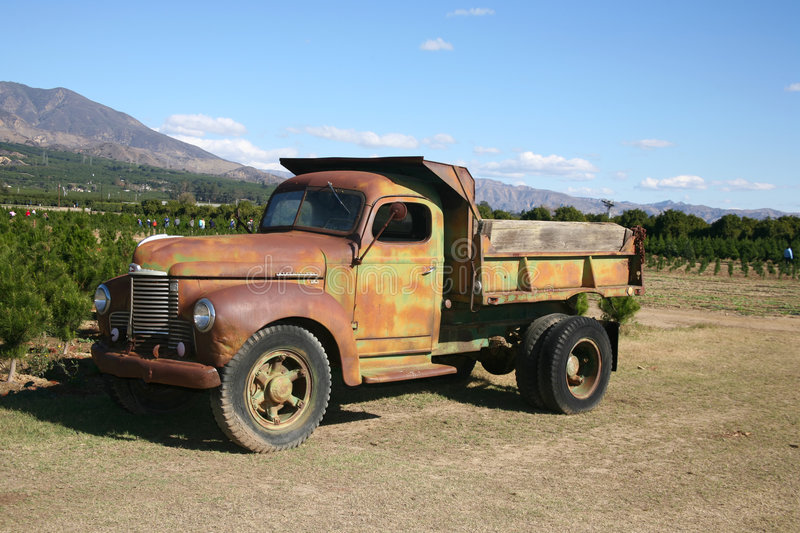 Download Rusty truck stock image. Image of closeup, colour, earth - 4165837