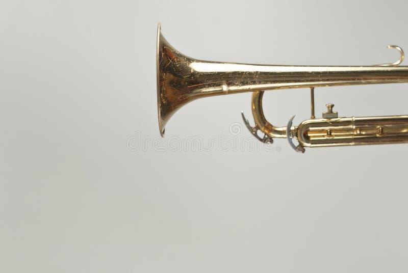 Rusty Trumpet royalty free stock photos