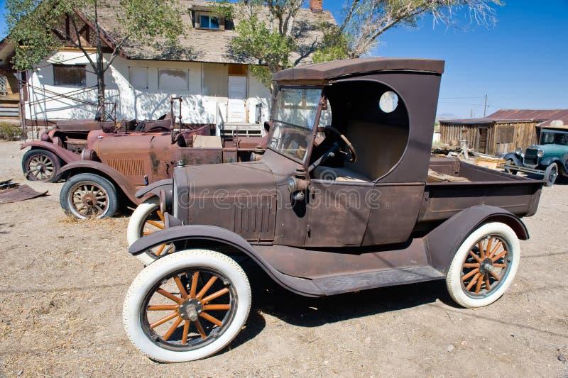 Download Rusty Vintage Cars stock image. Image of junk, vintage - 7610869