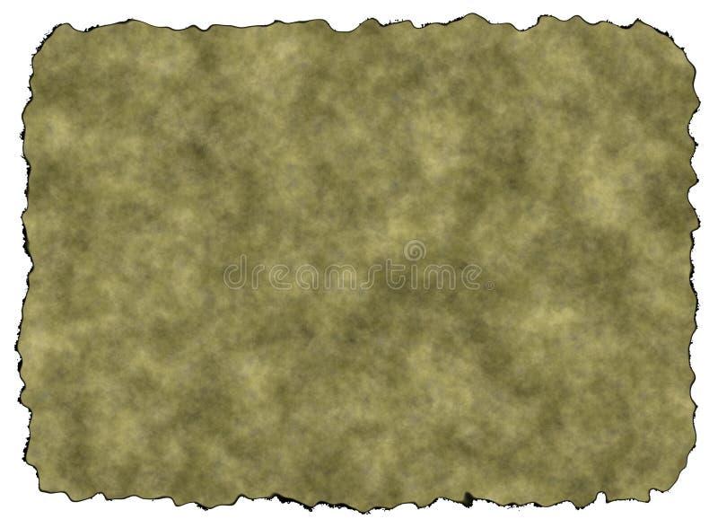 Rusty Vintage Paper Texture vazio com trajeto de grampeamento ilustração do vetor