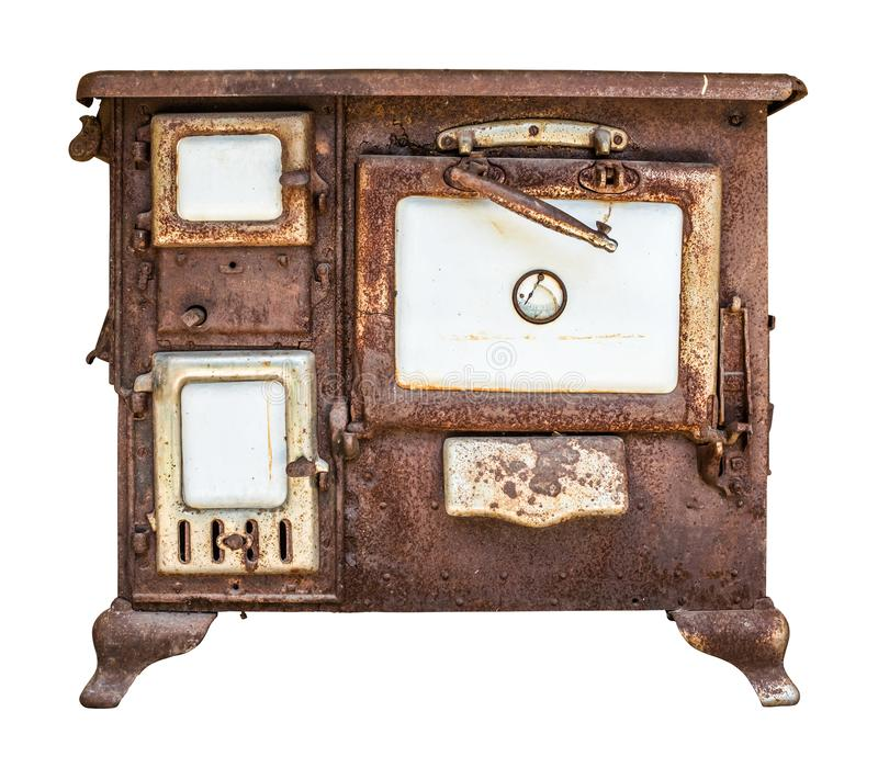 Rusty Vintage Stove Or Range fotos de stock royalty free