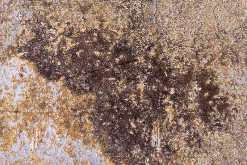 Rusty wall cement of beton op de bouwplaats textuur of achtergrond voor het ontwerp kopieerruimte royalty-vrije stock fotografie