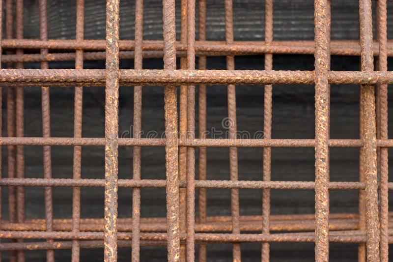 Rusty Wire Royalty Free Stock Image
