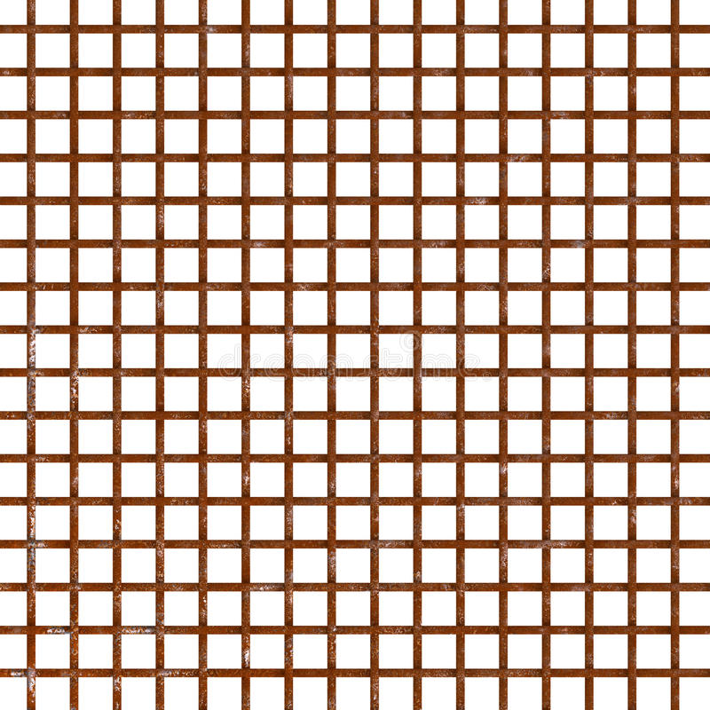 Download Rust Wire Mesh Pattern Isolated Stock Photo