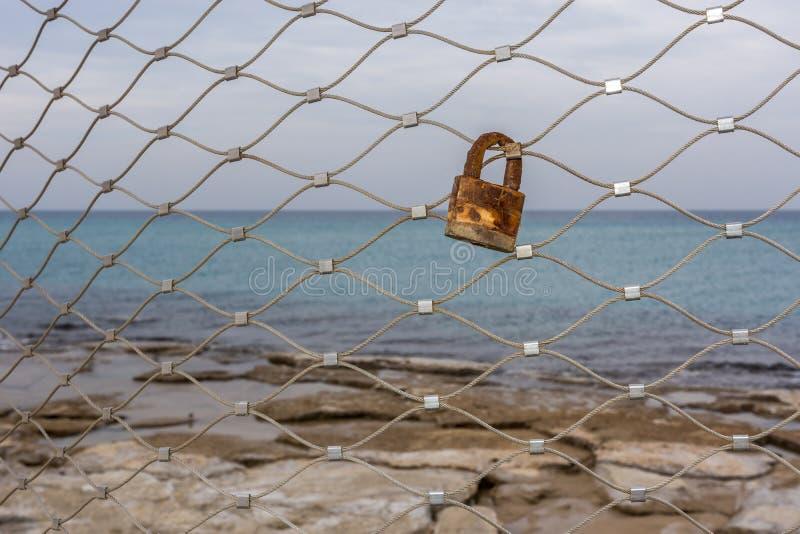rusty zamka zdjęcia royalty free