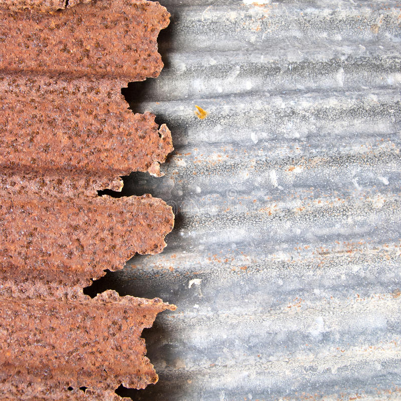 Download Rusty zinc stock image. Image of plate, dirty, structure - 22426207