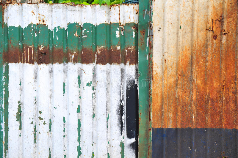 Download Rusty zinc stock image. Image of corrugated, roof, iron - 26030905