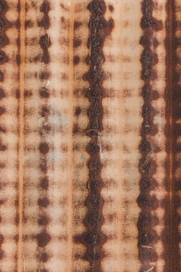 Rusty zinc wall stock photography