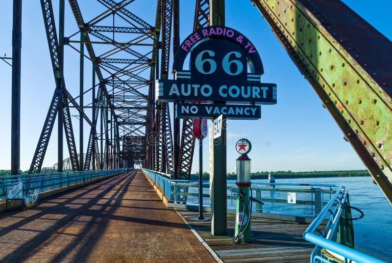Ruta 66 foto de archivo libre de regalías
