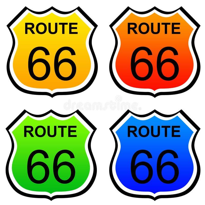Ruta 66 libre illustration