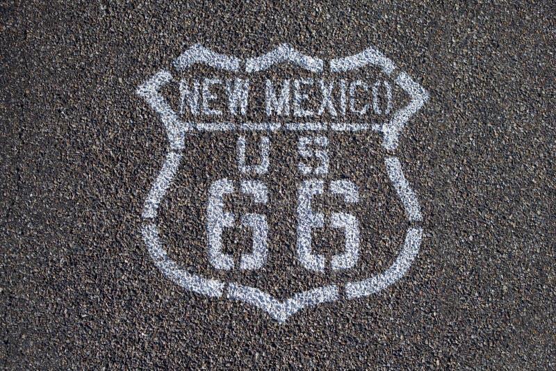 Ruta 66. fotos de archivo