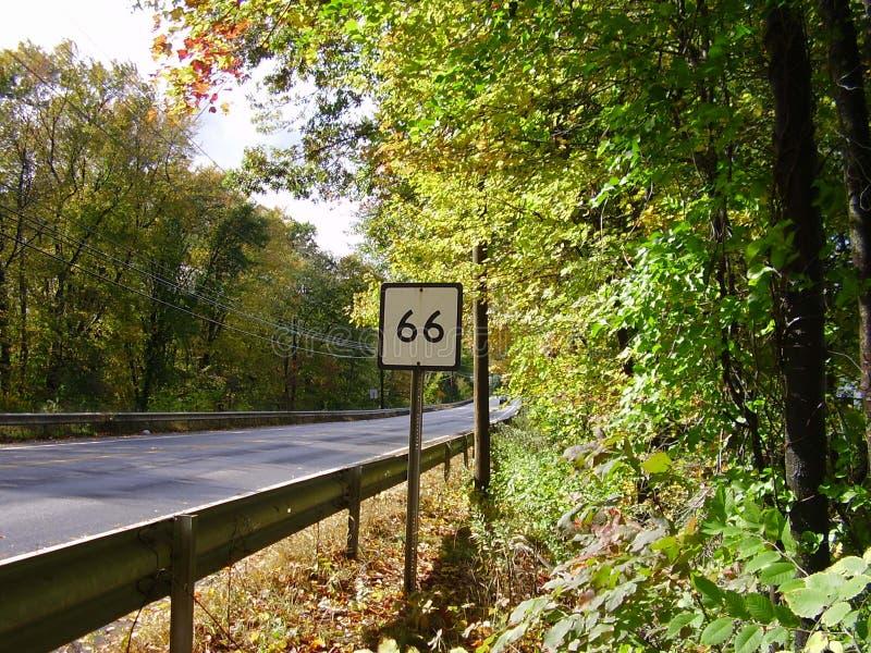 Ruta 66 imágenes de archivo libres de regalías