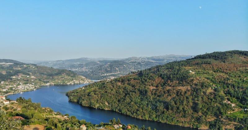 Ruta del río del Duero imagenes de archivo