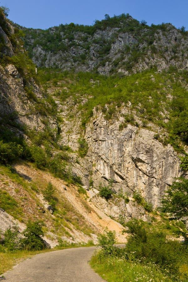 Ruta del valle de Sohodol imágenes de archivo libres de regalías