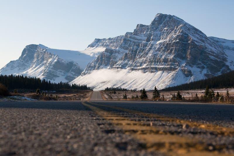 Ruta verde de Icefields imagenes de archivo