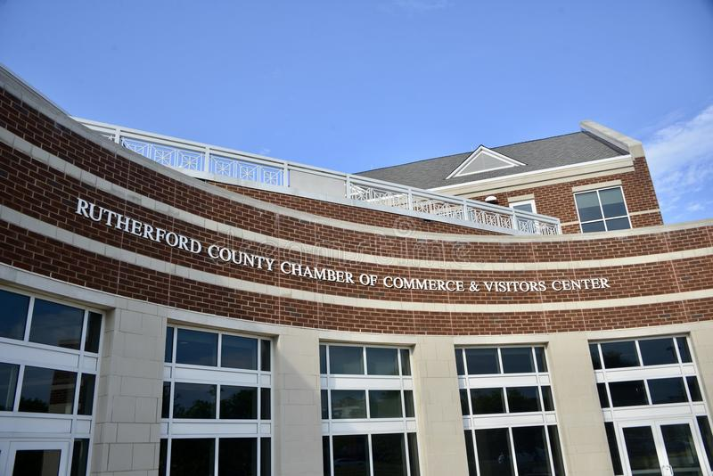 Rutherford County Visitors Building, Murfreesboro, TN royalty free stock photo