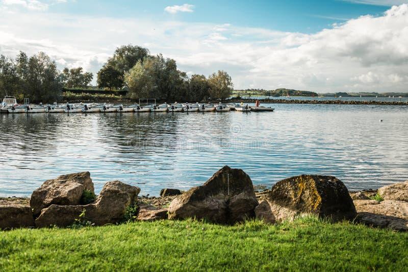 Rutland Water Park, Engeland royalty-vrije stock foto's
