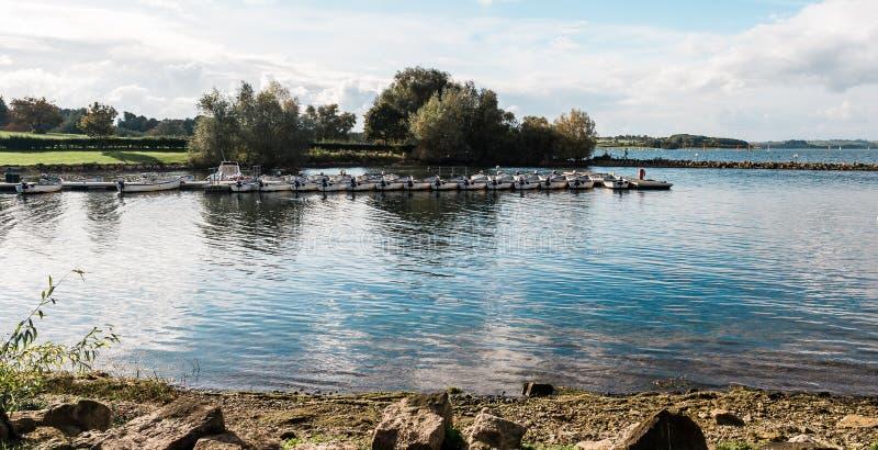 Rutland Water Park, Engeland stock foto's