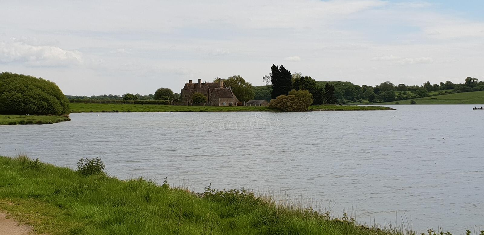 Rutland water stock images