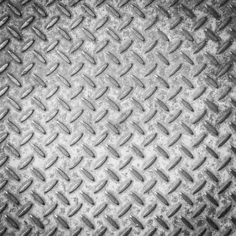 Rutschfester kratzender Schrittstahlhintergrund stockfoto