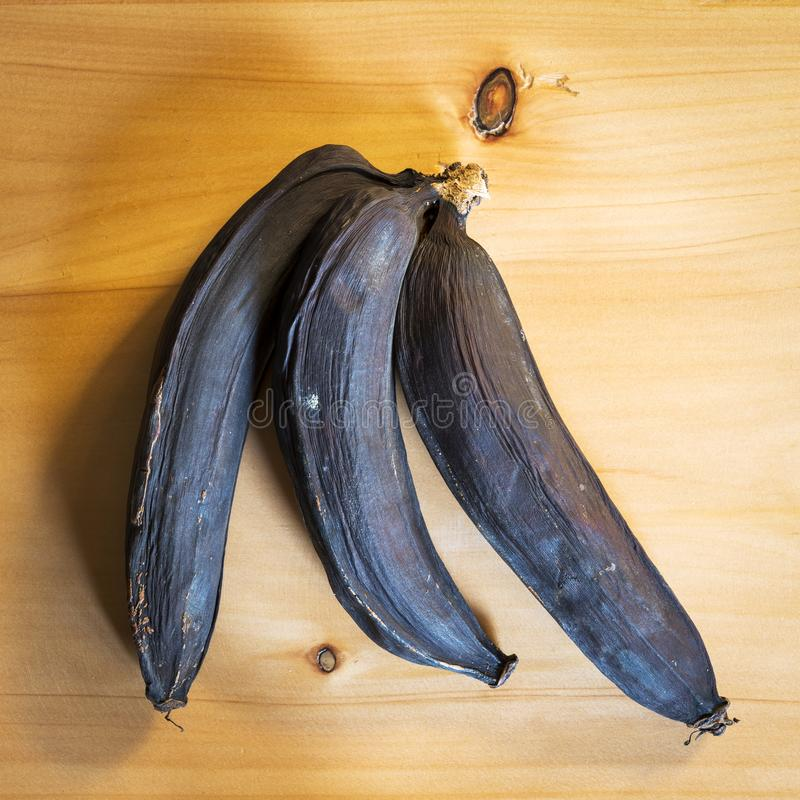 Ruttna bananer royaltyfri bild