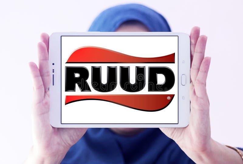 Ruud-Klimaanlage, Abkühlung, Heizungsfirmenlogo Redaktionelles ...
