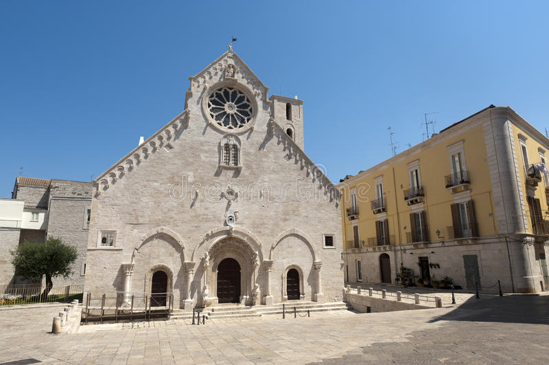 Ruvo (Apulia, Italy) - Old cathedral stock images