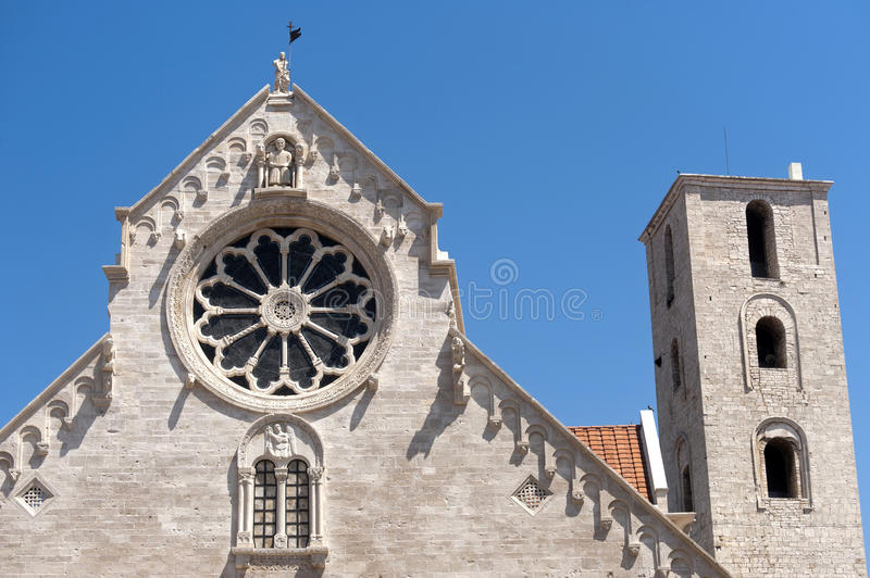 Ruvo (Apulia, Italy) - Old cathedral royalty free stock photography
