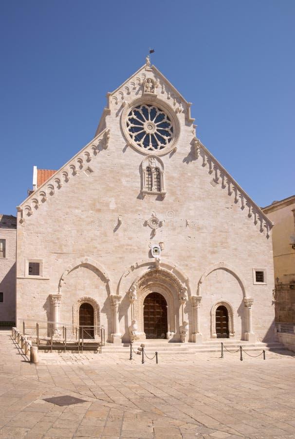 Ruvo di Puglia Cathedral stock photos